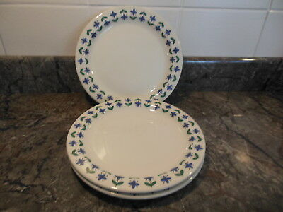Midwinter Roselle side plates x 3