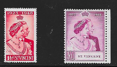 St Vincent Sg 162-163 Silver Wedding A-19