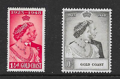 Gold Coast Sg 147-148 Silver Wedding A-16
