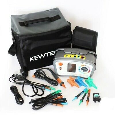 Kewtech KT65DL 8 in 1 Digital Multifunction Tester with FREE KEWTK1 Testing Kit