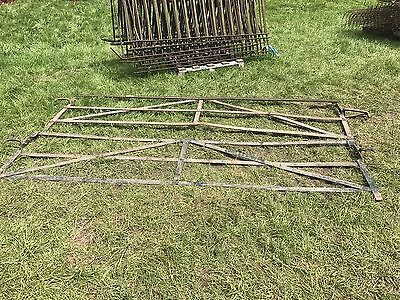 wrought iron estate fence / railings, antique victorian garden fencing. Must See