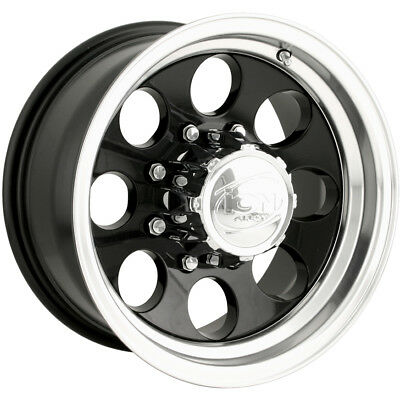 15x10 Black Alloy Ion Style 171 6x4.5 -38 Rims Federal Couragia MT 35X12.5X15
