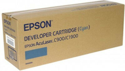 NEW Epson AL-C900/1900 Developer Cartridge Cyan 4.5k Free Shipping