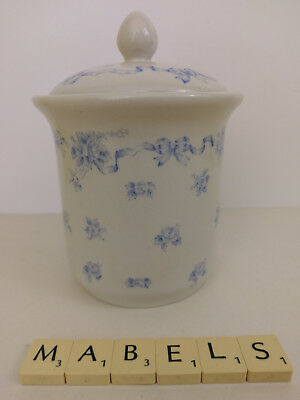 LAURA ASHLEY  ~RIBBONS~ bathroom  storage jar