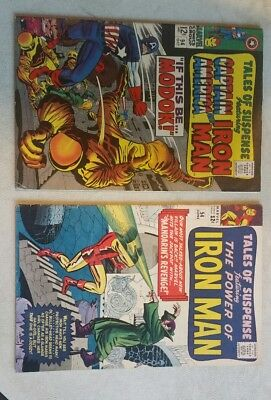 5-TALES OF SUSPENSE and 5-Tales To Astonish lot.