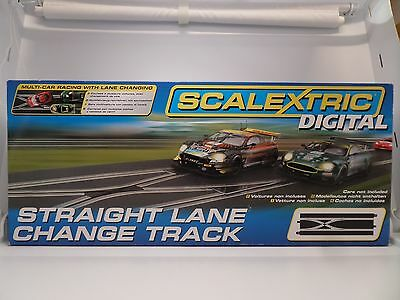 Scalextric C7036 Straight Lane Change Track Slot Car