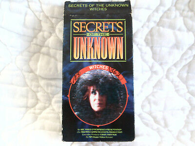 Secrets & Mysteries Of The Unknown Vhs Witches Witchcraft Horror Documentary