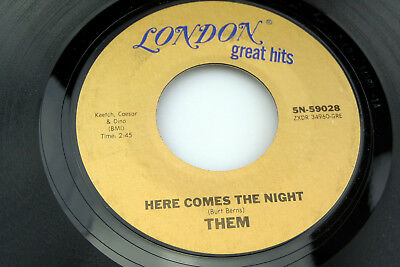 Them: Here Comes the Night / Gloria   [Unplayed Copy]