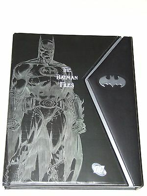 The Batman Files HC (2011 Andrews McMeel) Deluxe Edition Hardcover (1st edition)