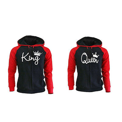 Couple Hoodie - King And Queen His and Hers - New Design Couple Matching Hoodie