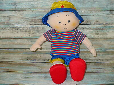 "CAILLOU Poseable PLUSH DOLL 16"" tall 2002 CINAR"