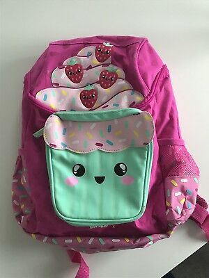 Smiggle Backpack Bag School Girls Ice Cream Pink