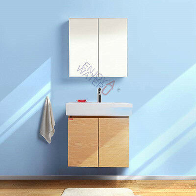 NEW 600X 720 X 150MM Pencil Edge Mirror Cabinet Shaving Medicine Vanity Bathroom