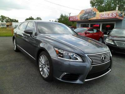2013 Lexus LS L AWD 4dr Sedan 2013 Lexus LS 460 L AWD 4dr Sedan Automatic 8-Speed AWD V8 4.6L Gasoline