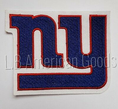 New York Giants Patch Aufnäher 9 x 7 cm NFL