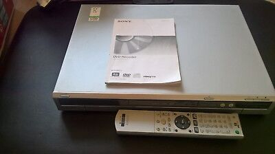 Sony RDR-HX510 DVD Recorder with 80GB Hard Drive, Boxed with original remote.