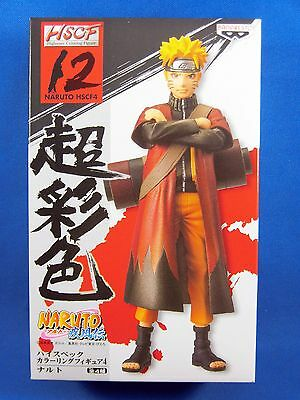 Naruto Shippuden HSCF High Spec Coloring Figure 4 No.12 NARUTO Banpresto NEW