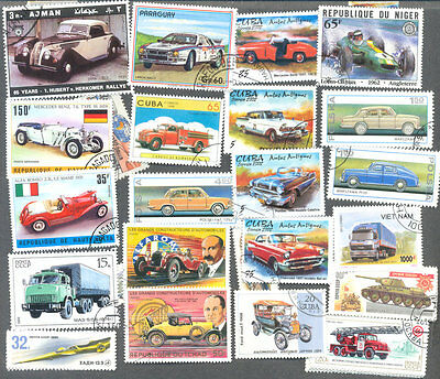 Cars & Motor Vehicles 500 all different collection-Cars/Trucks/Engines