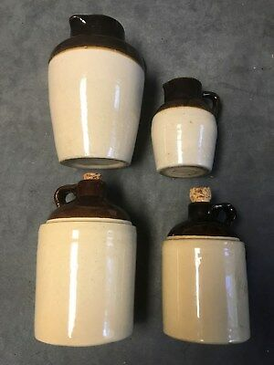 Two-Tone Stoneware Crocks - Used for Whiskey??