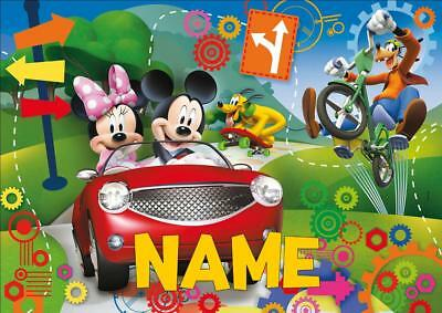 Mickey Mouse Clubhouse Personalised Place Mat Dinner Mat Table Mat