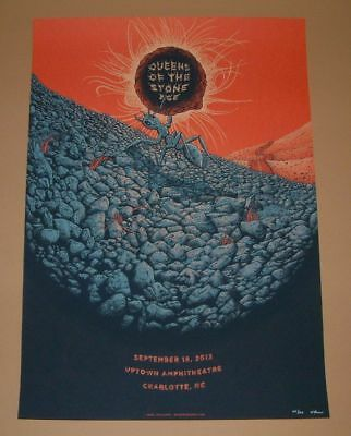 Neal Williams Queens of the Stone Age Charlotte Poster Print Signed Numbered Art