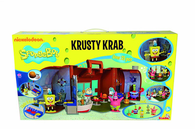 NEW Simba Spongebob Krusty Krab Action Figure Playset Boxset Toy Figures BOXED