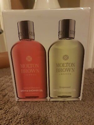 Molton Brown London Bath and Shower Gel Set Ideal gift Christmas