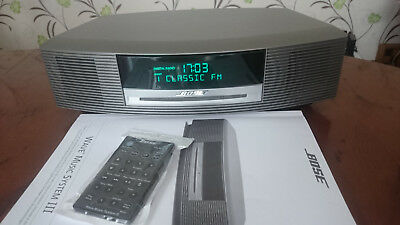 bose wave radio model awr1 2w without remote. Black Bedroom Furniture Sets. Home Design Ideas