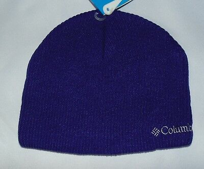 Columbia Big Girls Youth One Size Whirlibird Watch Cap Winter Hat Hyper Purple