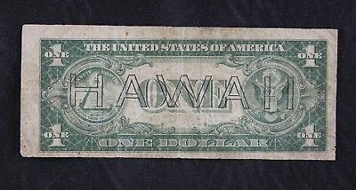 $1 HAWAII 1935A Error brown seal silver certificate S46592652C one dollar FRESHP