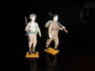 British soldiers WW2,  7 cm, a new figure for ELASTOLIN , MARX , Diedhoff etc.