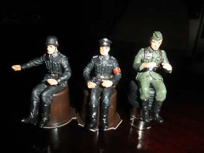 German soldiers, 7 cm, WW2, figures ELASTOLIN , not DDR , MARX , Diedhoff etc.
