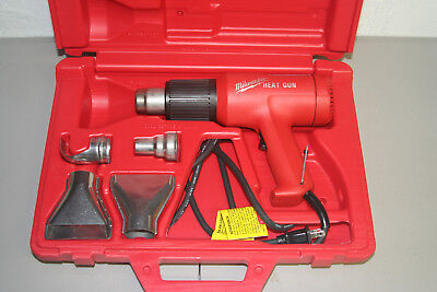 Milwaukee 8975 Heavy Duty Heat Gun - Complete w/Case & Attachments -  MINT!!!