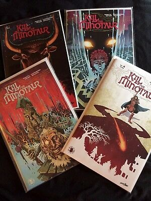 Kill the Minotaur #1, 2, 3, 4 (complete set to date) Optioned Series Image NM+