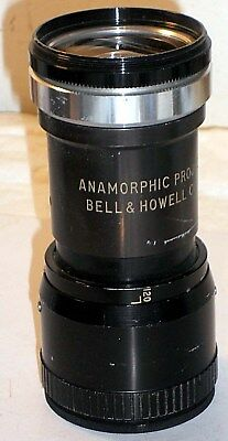 Vintage Bell & Howell Anamorphic Projection Lens Screw Mount