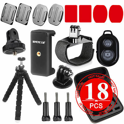 Accessories Pack Head Chest Monopod stick  Bike Mount for GoPro HD Hero 5 4 3+ 2