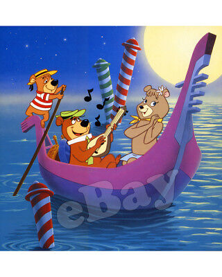 Rare! HEY THERE! IT'S YOGI BEAR Cartoon Color Photo HANNA BARBERA Studios MOVIE