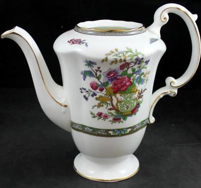 Paragon TREE OF KASHMIR SCALLOPED Coffee Pot (no lid) Bone China A+ CONDITION
