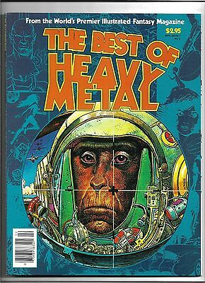 The Best of Heavy Metal Magazine 1977 - 1979 Special 1982 FN/VF+ Moebius Corben