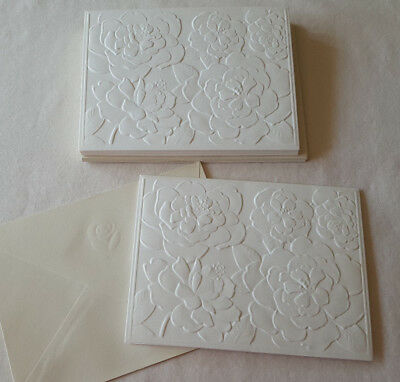 American greetings assorted christmas holiday cards wo envelopes lot 10 american greetings floral blank note cardsenvembossed ecru m4hsunfo