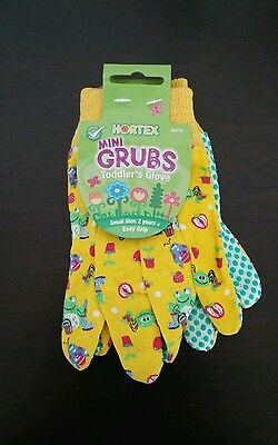 BRAND NEW Hortex Toddler Mini Garden Gloves / Kid's Gardening Gloves