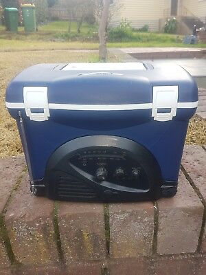 Small Esky / cooler with inbuilt Radio.  Holds 6 cans.  good working order