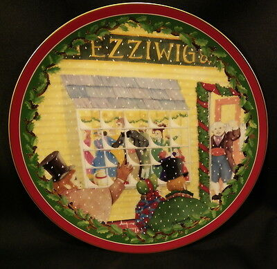 Dickens' Village Plate- Heritage Village Collection-