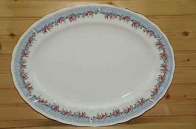 "Paragon Bridesmaid Large Oval Serving Platter, 15 1/4"" x 11 3/4"""