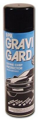 Gravi-Gard Stone Chip Aerosol, Gray UPL-UP0732 Brand New!