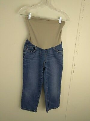 Oh Baby by Motherhood Jeans Size M Medium Wash Maternity Pants