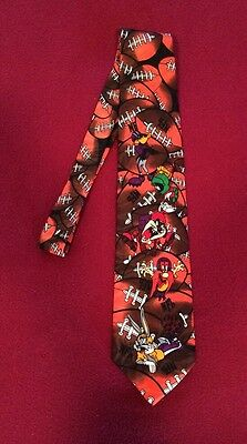 NFL Bugs Bunny And Friends Tie Football Looney Tunes (1993) Molto