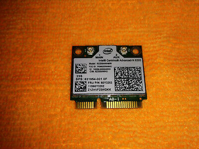 Intel Centrino Advanced-N 6205 mini PCIe Wireless module (62205ANHU) ORIGINAL