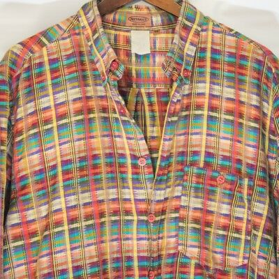 missoni madras style long sleeve shirt woven italy funky fashion street wild