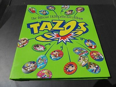Tazos Album With Heaps Of Complete Pages / Sets -  Collectable Dizks